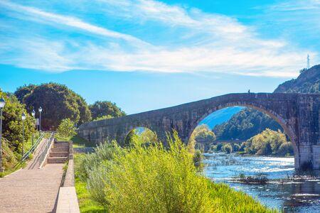 Arslanagic Bridge in city of Trebinje from Bosnia and Herzegovina Фото со стока