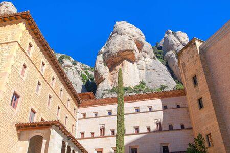 Monistrol de Montserrat in Catalunya