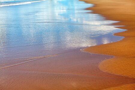 Atlantic Ocean waters edge background