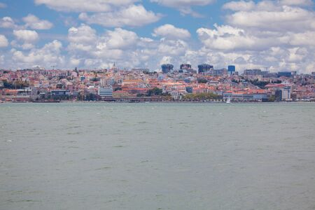 Panorama of Lisbon city and Tagus river Reklamní fotografie