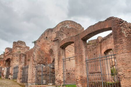 Palatino architecture ruined ancient building