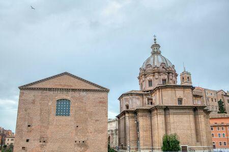 Santi Luca e Martina is a church in Rome, Italy