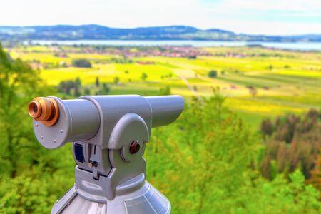 touristic binoculars for enjoying nature 版權商用圖片