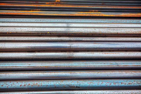 metal beams for construction industry