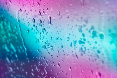 Rain Drops in the Gradient light  Reklamní fotografie