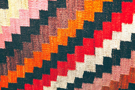 Cotton Rug Patterns . Carpet made in traditional style