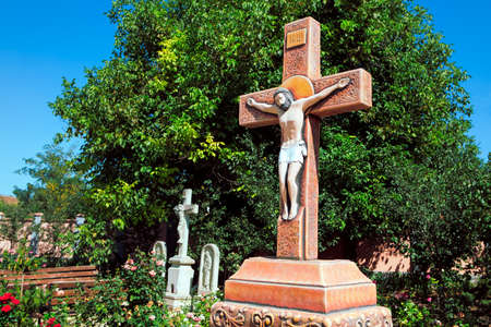 Jesus On the Cross . Crucifixion symbol of Christianity