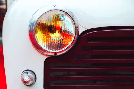 Vintage and Classic Car Headlight
