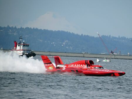 hydroplane: Unlimited Hydroplane Speed Boat Editorial