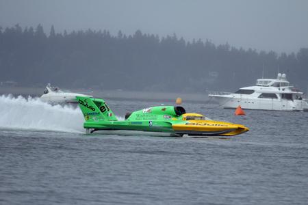 bateau de course: Illimit� Hydroplane Racing Bateau