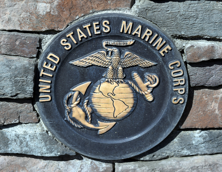 corps: Untied State Marine Corps Plaque Editorial
