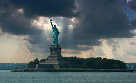 lady liberty 版權商用圖片