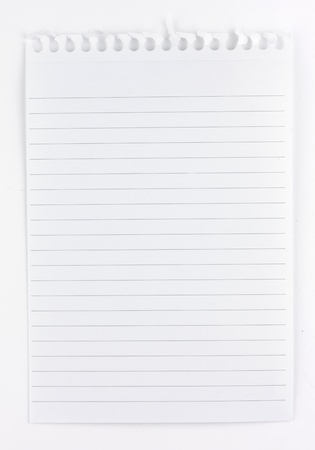shorthand: A sheet of lined shorthand notepaper
