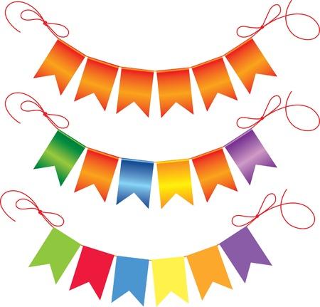 pennants: Festive flags