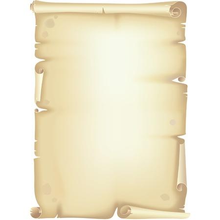 whorls: Old рареr scroll, manuscript