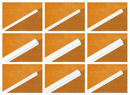 skirting: Decorative profile of polystyrene, ceiling skirting