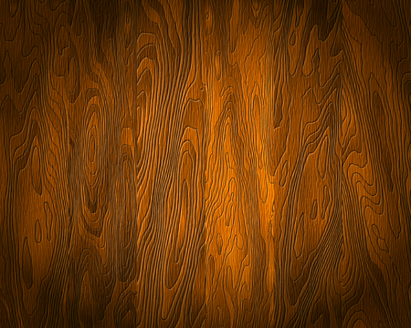 linoleum: Natural wood Texture, dark boards, realistic wooden background, vector Illustration