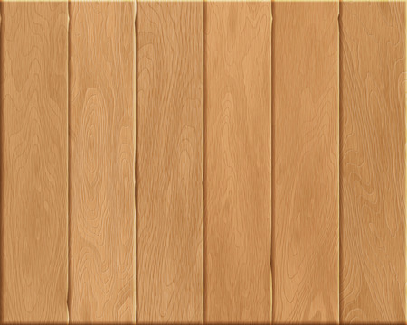 linoleum: Natural wood Texture, beige boards, realistic wooden background, vector