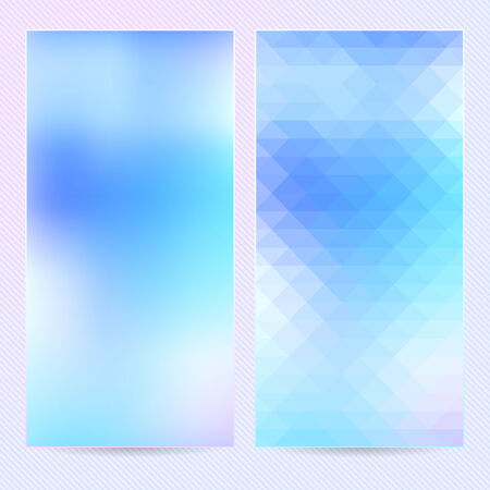 Abstract background, template banner or postcard Vector