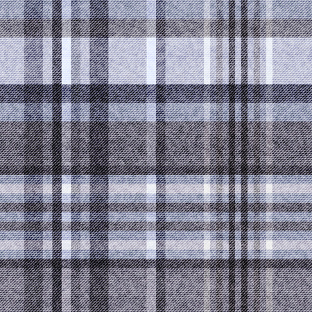 Tartan, checkered seamless fabric background Illustration