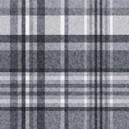 Tartan, checkered seamless fabric background Ilustracja