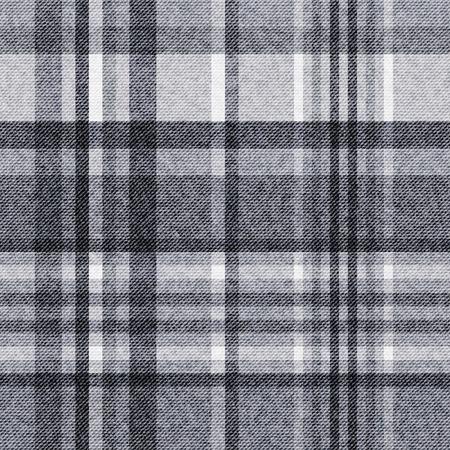 Tartan, checkered seamless fabric background Vettoriali