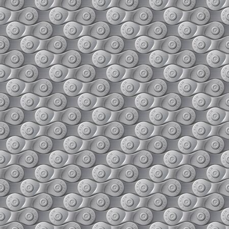 Seamless pattern, background, gray metal bicycle chain, vector illustration