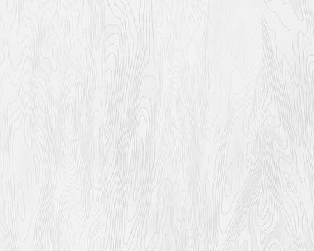 Natural white wood texture, painted boards, realistic wooden background, vector