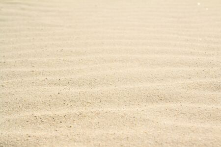 Rippled sand on the sea coast formed by wind and water, background, texture, pattern Stock fotó