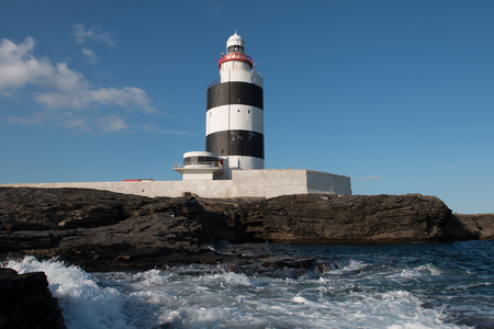 Hook Head Lighthouse, Co Wexford, Ireland 免版税图像