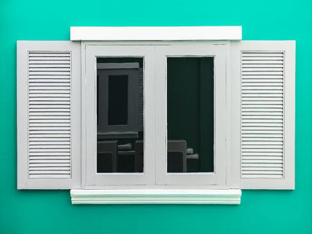 shutter: European style window Stock Photo