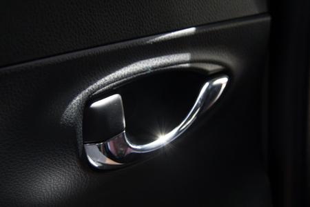 manija de extracci/ón del panel de la puerta EVGATSAUTO Manija interior del autom/óvil Black cubiertas de ajuste aptas para la serie B-M-W 3 2004 2005 2006 2007 2008 2009 2010 2011 2012