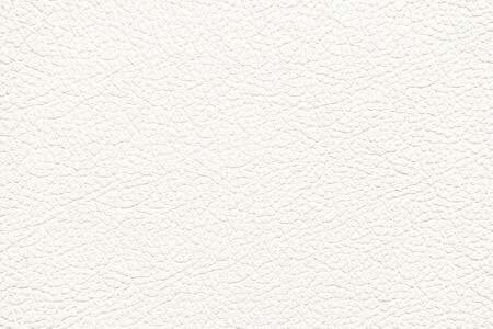 White Leather Texture used as classic Background.
