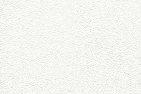 White Leather Texture used as classic Background. Stockfoto