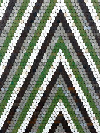 Old pattern creates a stunning image.Abstract geometric mosaic vintage ethnic seamless image ornamental. Stockfoto