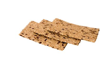 three thin crackers