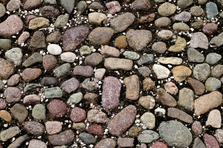 close up look at stone floor