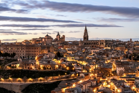 toledo, the old spanish city Stock Photo