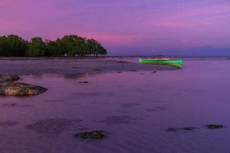 Purple sunset in Palawan