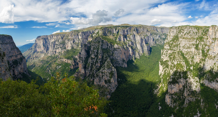 Vikos is the deapest gorge in the world, located in Zagoria, Greece