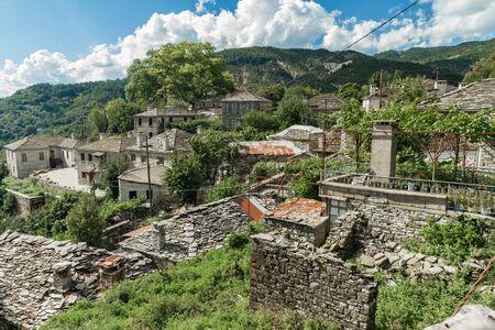 The small village Mirko Papingo located in Zagoria, North of Greece