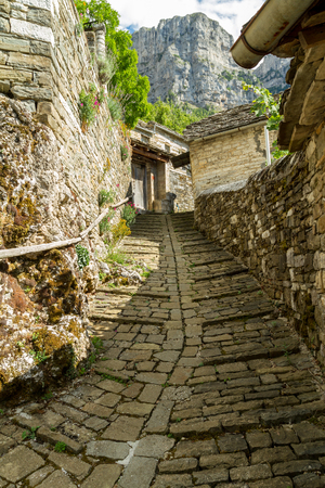 Mikro Papingo located in Epirus, North of Greece