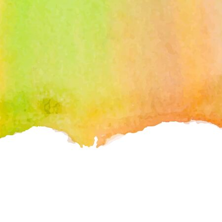 mastery: Abstract watercolor art hand paint isolated on white background. Illustration