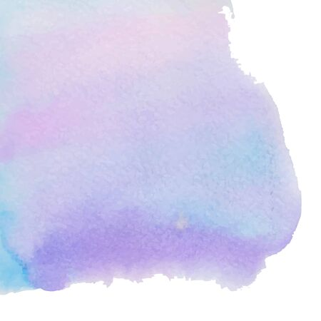 Abstract watercolor art hand paint isolated on white background. Ilustração
