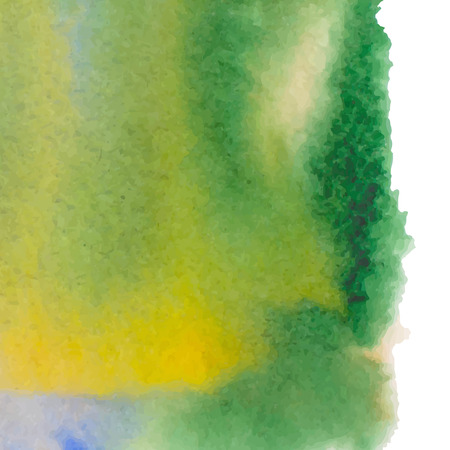 Abstract watercolor art hand paint isolated on white background. Illustration