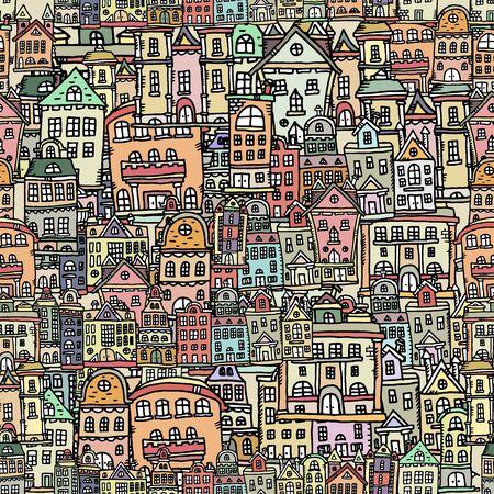case colorate: seamless con case colorate