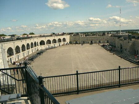 kingston: An overview of old Fort Henry in Kingston Ontario