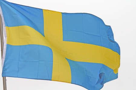 Swedish Flag Stock fotó