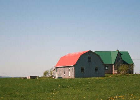 dwelling: Barn and House