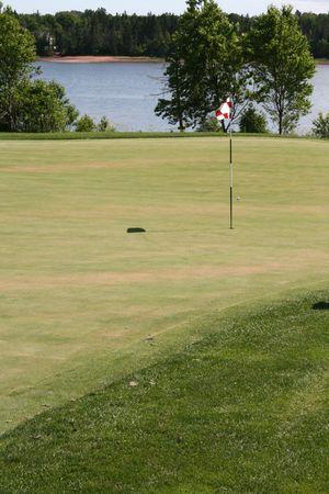 グリーン ゴルフ 写真素材